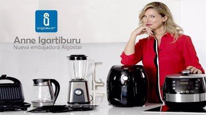 Anna Igartiburu, nueva embajadora Aigostar