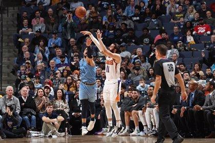 Los Suns de un buen Ricky Rubio no renuncian al 'play-in' en el Oeste