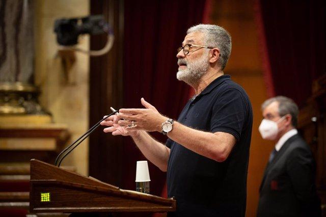 """Riera (CUP): """"Es responsabilidad de la Mesa"""" y de Torrent publicar las resolucio"""