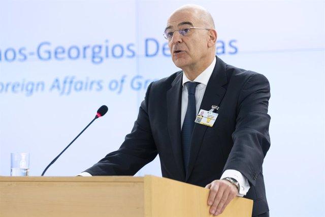 Grecia/Turquía.- El ministro de Exteriores griego se verá con Pompeo en plena es