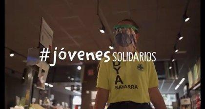 """El Ayuntamiento de Pamplona destaca en un vídeo la """"importante aportación"""" de los jóvenes en la crisis del Covid-19"""