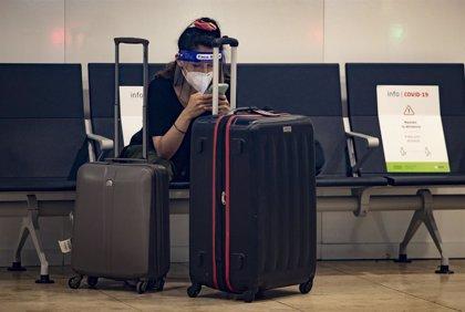 Los aeropuertos de la red de Aena registraron 6,9 millones de pasajeros en julio, un 76,2% menos