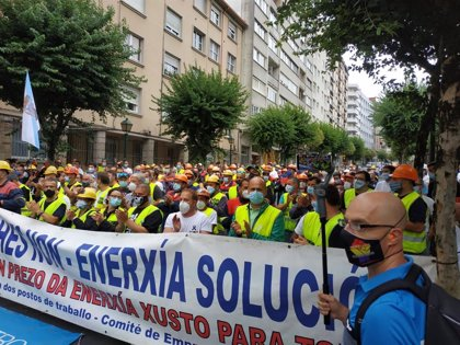 El comité de empresa trasladará en una reunión con Alcoa este jueves que acepta la propuesta de Gobierno y Xunta