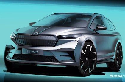 Skoda presentará el 1 de septiembre su primer todocamino totalmente eléctrico, el Enyaq iV