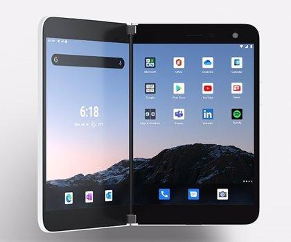 Portaltic.-Microsoft lanzará el 10 de septiembre en EEUU su móvil con doble pantalla Surface Duo