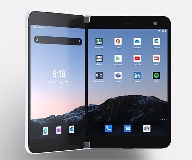 Microsoft lanzará el 10 de septiembre en EEUU su móvil con doble pantalla Surfac