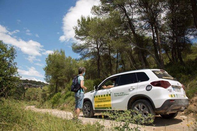 La campanya del Pla d'Informació i Prevenció d'Incendis Forestals (PVI) de la Diputació de Barcelona