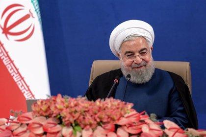 """Irán.- Rohani advierte de que """"habrá consecuencias"""" si la ONU prorroga el embargo de armas"""