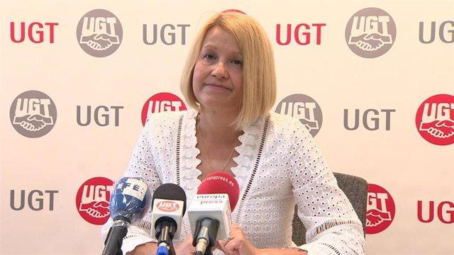 Mª Carmen Barrera, secretaria de Políticas Sociales, Empleo y Seguridad Social de UGT.