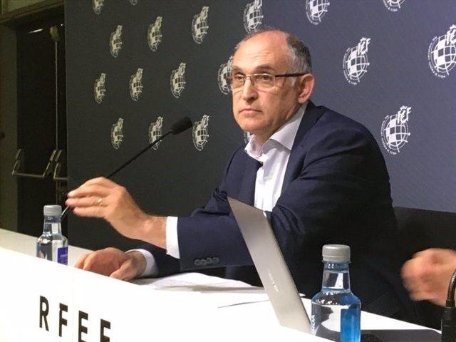 """Fútbol.- La RFEF considerará """"rechazada"""" su propuesta de 24 equipos en Segunda s"""