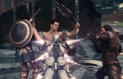 Liga de la Justicia vs Superman por Zack Snyder, antes del tráiler de la DC FanDome