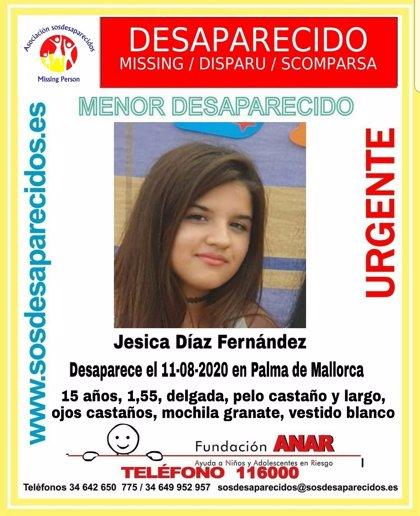 Aparece en buen estado la menor de 15 años desaparecida este martes en Palma