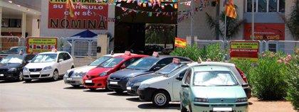 La venta de vehículos de ocasión cae un 0,40% en julio en la Región de Murcia frente a la subida del 6,2% nacional