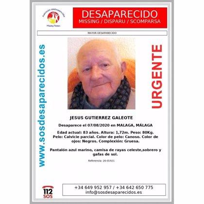 Llevan a cabo una batida ciudadana por Torremolinos para buscar al hombre de 83 años desaparecido en Málaga