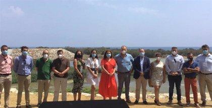 Crespo destaca las obras de defensa integral y prevención ejecutadas en Almería frente a futuras avenidas