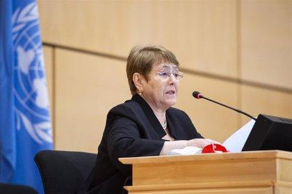 Bachelet condena la violencia en Bielorrusia y pide liberar a los manifestantes detenidos