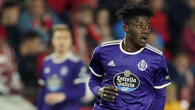 Fútbol.- Salisu se despide del Real Valladolid y firma cuatro temporadas por el
