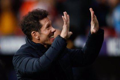 El Atlético suma seis victorias y una derrota en sus duelos a partido único con Simeone