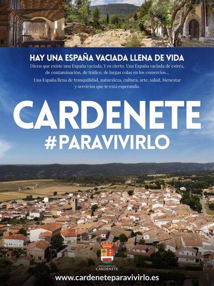 """Cardenete lanza una web promocionándose """"como un lugar ideal para vivir"""""""