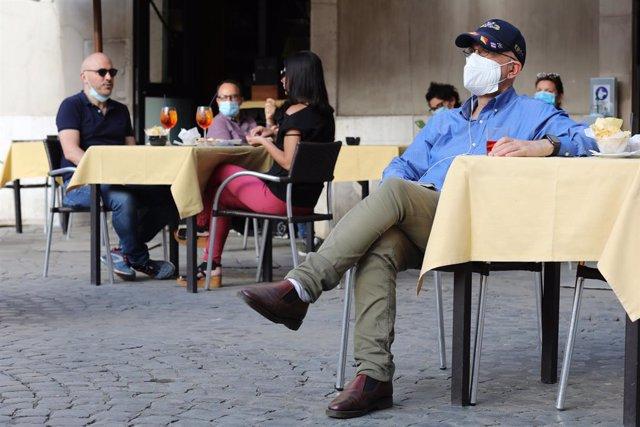 Imatge de Roma durant la pandèmia de coronavirus