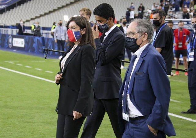 "Fútbol/Champions.- Al-Khelaifi: ""Neymar y Mbappé no se irán nunca del PSG"""