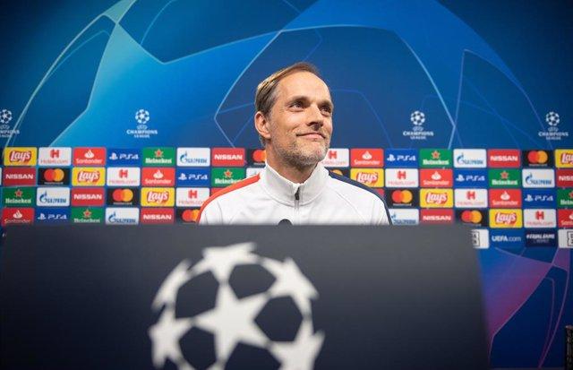 Paris Saint-Germain coach Thomas Tuchel