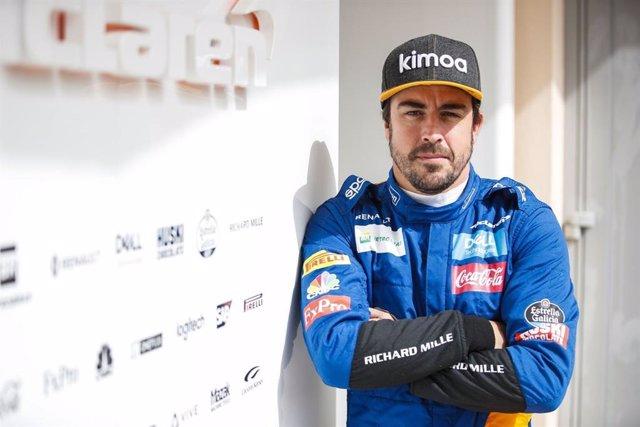 Fernando Alonso durante el test de Fórmula 1 en Baréin F1