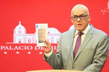 Coronavirus.- El vicepresidente venezolano Jorge Rodríguez anuncia que tiene COVID-19 y se pone en aislamiento