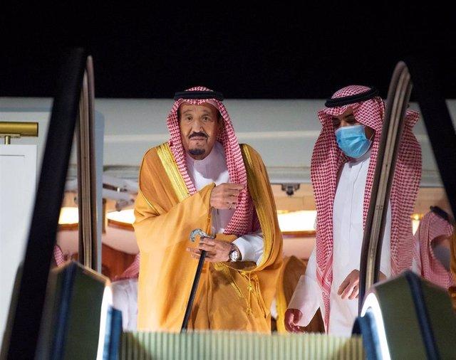 El rey Salman de Arabia Saudí