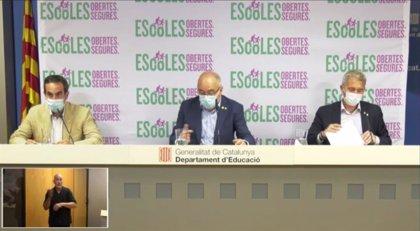 Las escuelas catalanas tendrán un CAP de referencia y se formará a los directores sobre la Covid-19