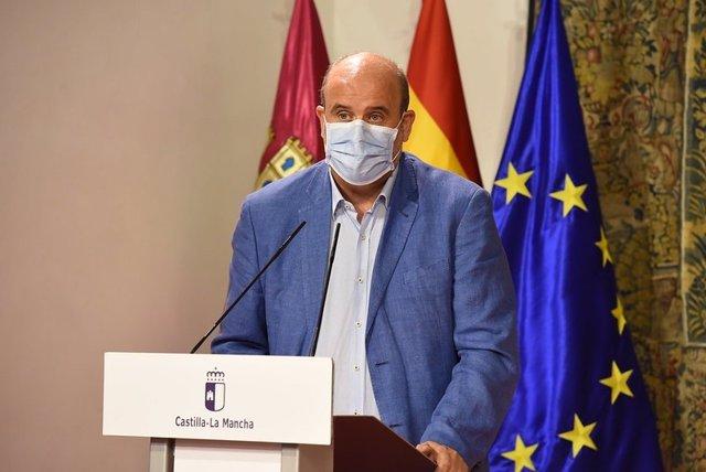 El vicepresidente regional, José Luis Martínez Guijarro.