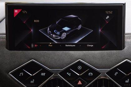 DS permite controlar el nivel de autonomía eléctrica de su DS3 Crossback E-Tense a través del móvil