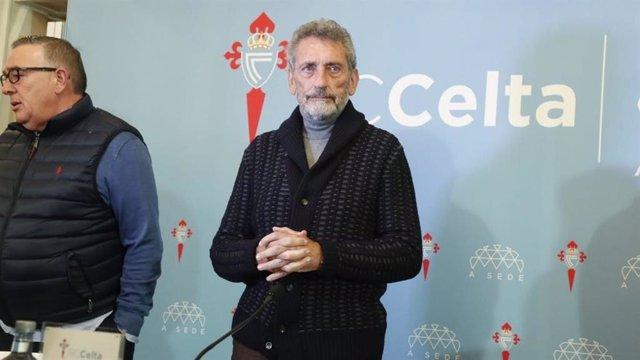 """Fútbol.- Carlos Mouriño: """"Por más que lo pretendan, el Celta siempre peleará par"""