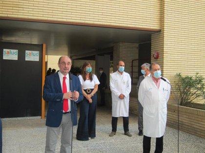 Una nueva máquina en el Clínico permitirá a Aragón 5.000 PCR diarias y resultados más rápidos