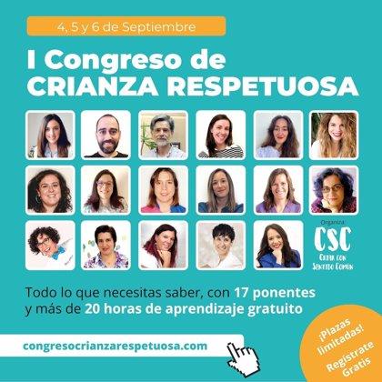 COMUNICADO: Primera Edición Online del Congreso Internacional de Crianza Respetuosa, del 4 al 6 de septiembre