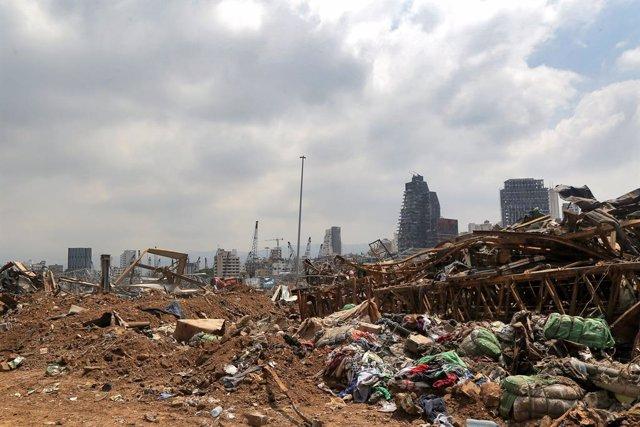Más de medio centenar de edificios históricos de Beirut corren el riesgo de derr