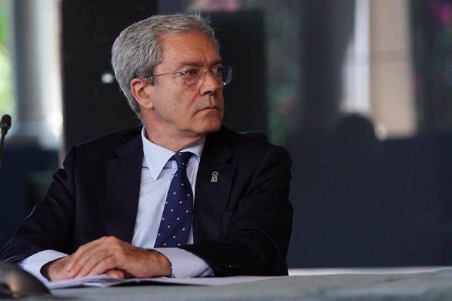 El consejero de Economía, Rogelio Velasco, en una imagen de archivo.