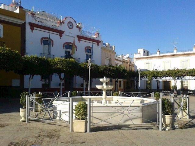 Fachada del Ayuntamiento de La Algaba