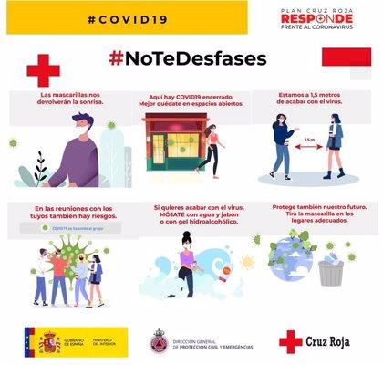 """Cruz Roja llama a la responsabilidad para evitar """"situaciones de riesgo"""" en las 'no fiestas' de los pueblos"""