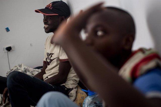 Migrantes subsaharianos en Túnez