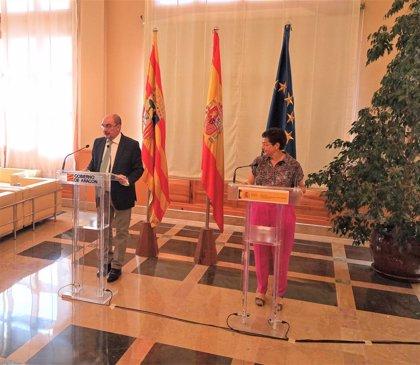 """La ministra de Asuntos Exteriores destaca que """"Aragón es un destino turístico seguro"""""""