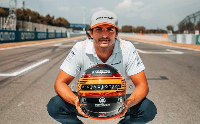 """Fórmula 1/GP España.- Carlos Sainz correrá en Montmeló """"por vosotros"""", los afect"""