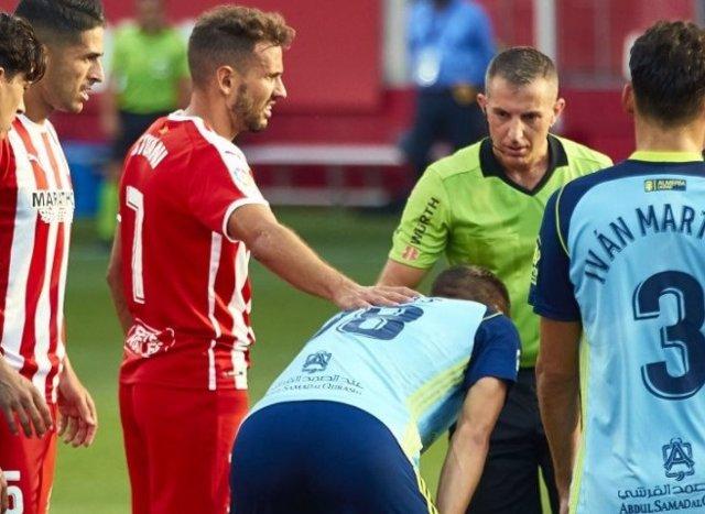 Fútbol/Segunda.- Crónica del Girona - Almería, 1-0