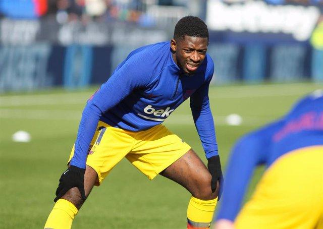 El jugador del FC Barcelona Ousmane Dembélé