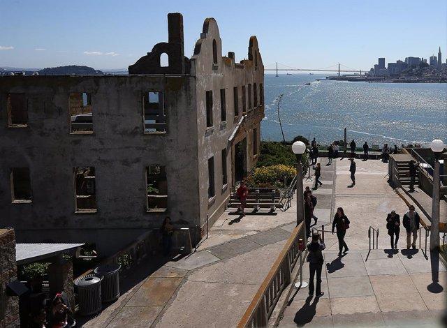 Coronavirus.- La isla de Alcatraz reabrirá el lunes tras cinco meses de cierre p