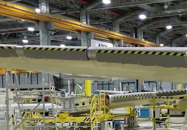 Fabricación de piezas aeroespaciales