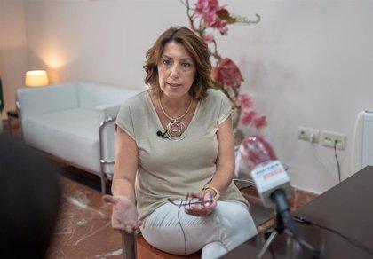"""Susana Díaz: Casado rechaza por """"rédito electoral"""" el acuerdo de FEMP que """"enmienda"""" a Rajoy"""