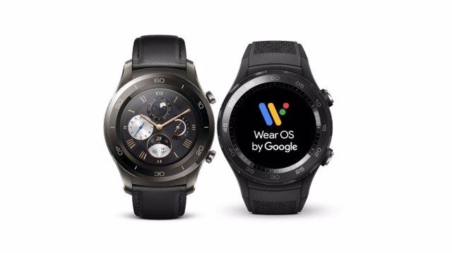 Relojes inteligentes con el sistema Wear OS de Google.