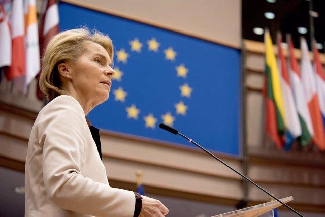 Bielorrusia.- Von der Leyen insta a los 27 a adoptar sanciones contra Bielorrusi