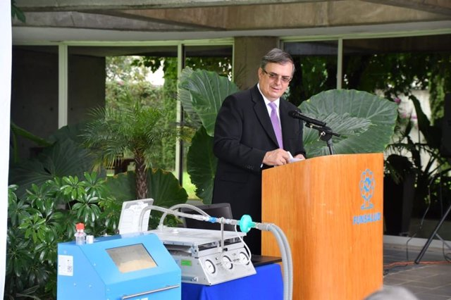 Coronavirus.- México lanza un respirador mecánico de fabricación nacional para l